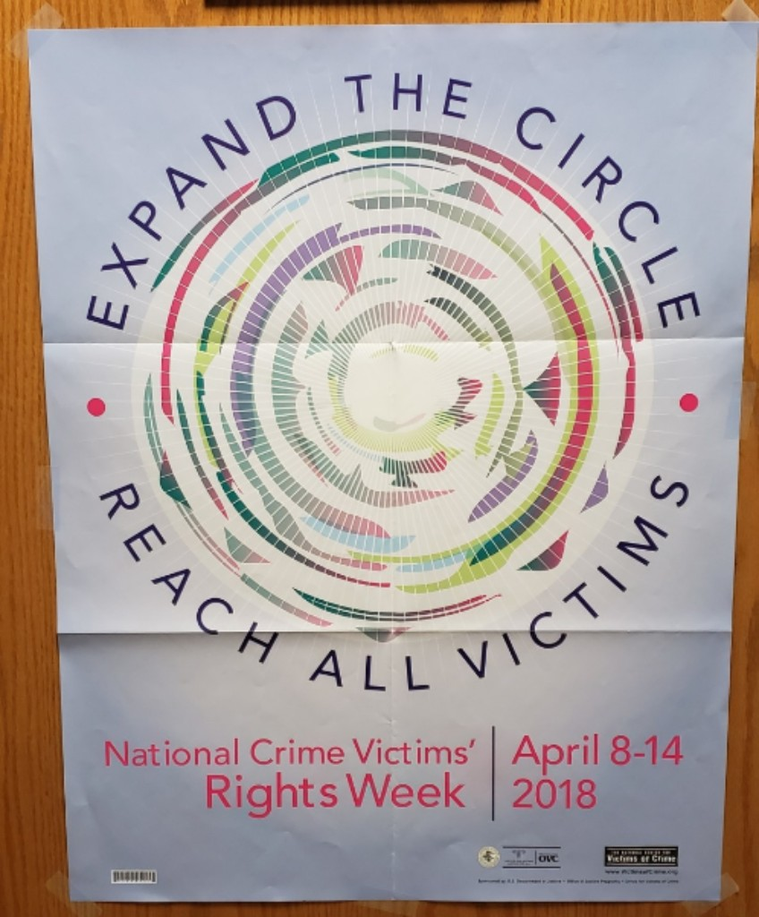 2018 Theme: Expand the Circle: Reach all Victims